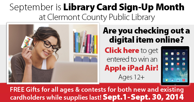 Library Card Sign Up Monthl